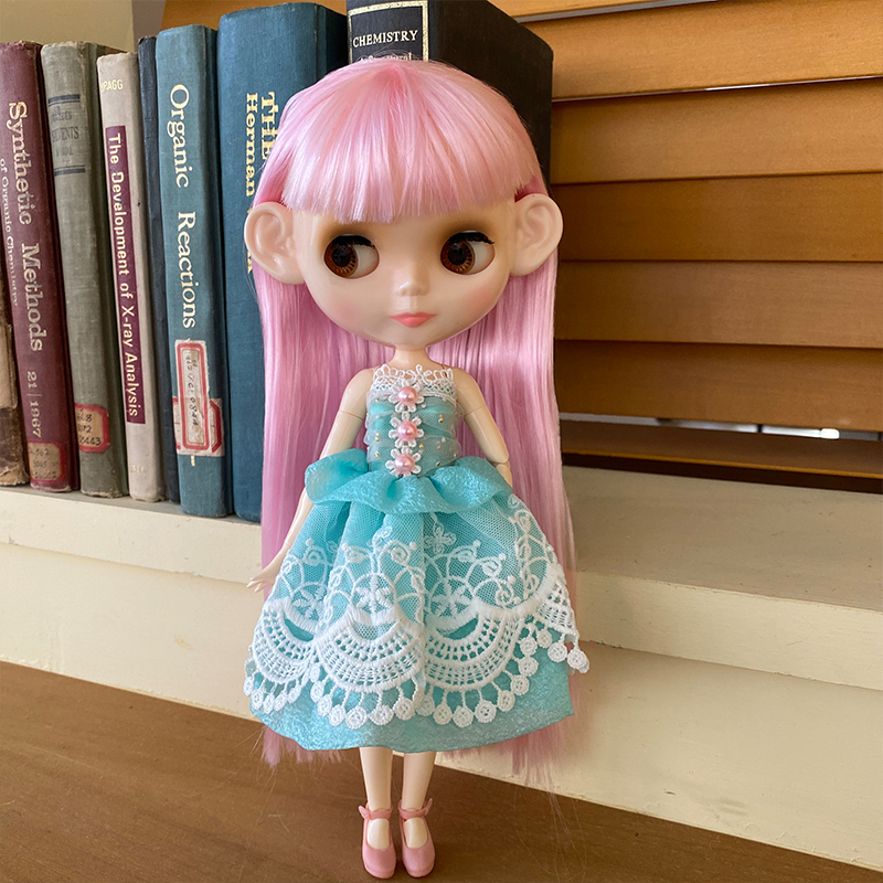 Кукла нео блайз NBL на заказ, шарнирная кукла с блестящим лицом 1/6 BJD Ob24, кукла блайз для девочки, игрушки для детей YM02
