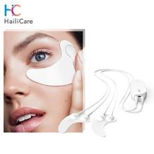 RF EMS Microcurrent Massage Eye Mask Eyes Care Mini Hydrogel Eye Patches Hot Reduce Wrinkles Dark Circles Eye Massager Device