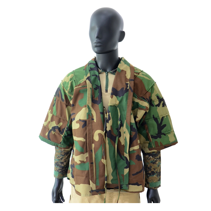 2020 New Woodland Tactical Cape Multicam Black Coverall