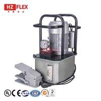 MEN-208E 220V 0.75KW Öl Pumpe Hochdruck Elektrische Pumpe Werkzeug Elektrische Doppel Wirkenden Manuelle Hydraulische Pumpe Electron