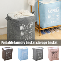 Roupa suja cesta de lavanderia dobrável cesta de armazenamento cesto balde para casa de banho hg99