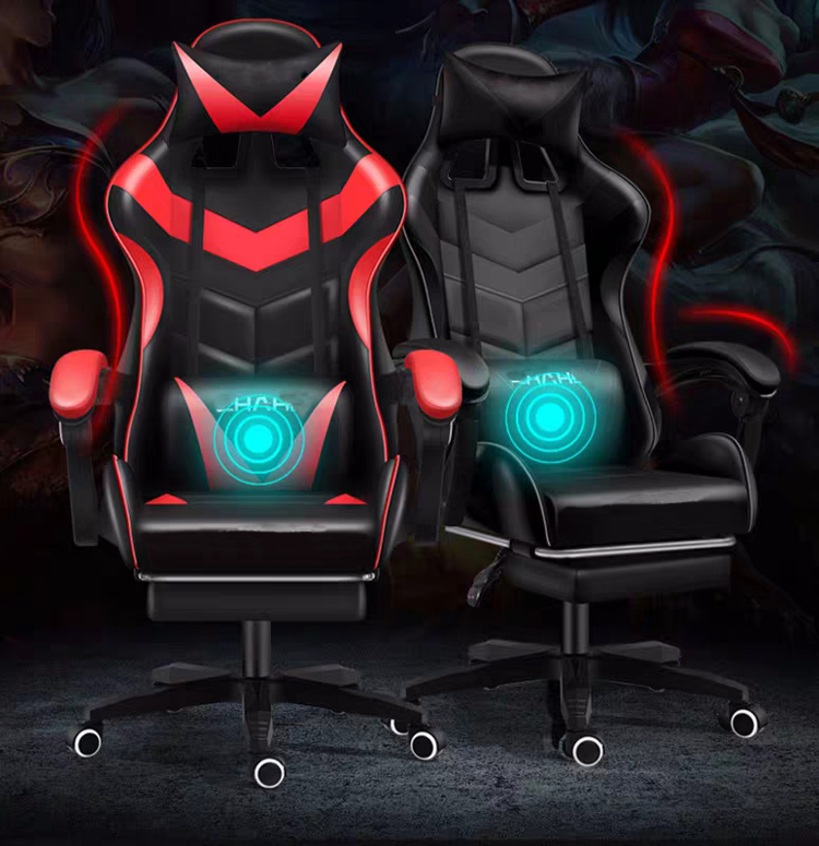 Ergonomic Lifting Computer Gaming Chair Internet Cafes Sports Racing Chair Backrest Play Gaming Chair Home Office Chairs