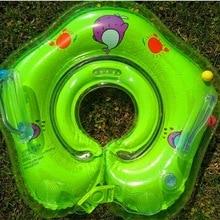 Детские аксессуары шеи кольцо пробка безопасности младенческой поплавок круг для купания надувной фламинго воды
