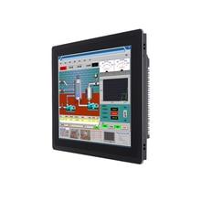 Pc industrial touch panel all-in-one corei3i5i7 4G RAM com painel capacitivo embutido, para windows10 , 13.3polegadas