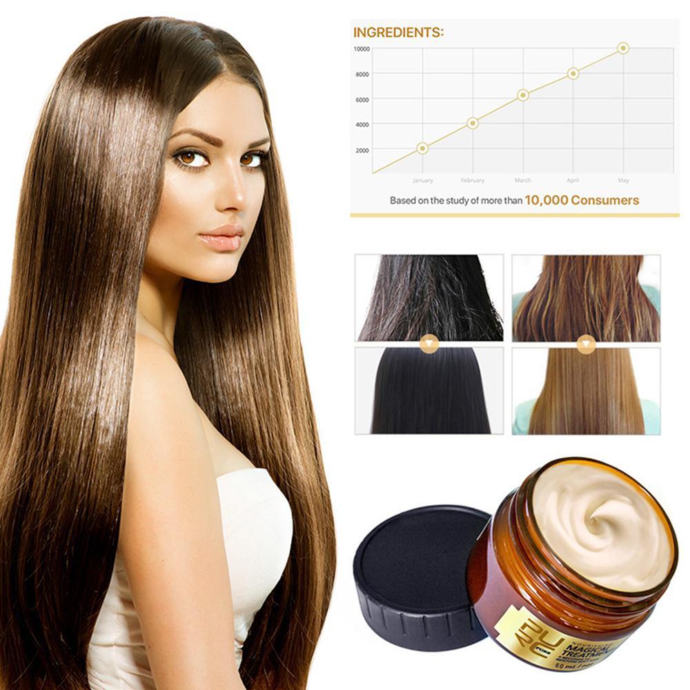 cabelo natural premium hidratante fórmula argan óleo