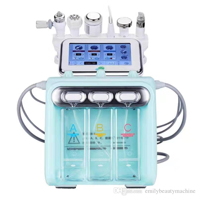 2020 Face Care Tool Machine New Technology H2O2 Water Oxygen Jet Peel Hydra Hydrating And Cleaning Beauty Machine Fast Shipping