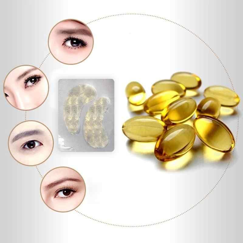 1 Pair Idratante Anti-aging Oro Collagene Maschera per Gli Occhi Occhio Toppe e Stemmi Anti-Gonfiore Cerchio Scuro Occhi Strumenti di Cura