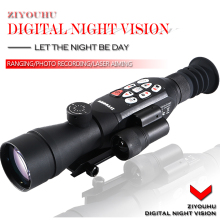 HD Infrared Digital Night Vision Sight Zoom Monocular Night Ranging Riflescope Aiming Device for Hunting Scope Video Recording