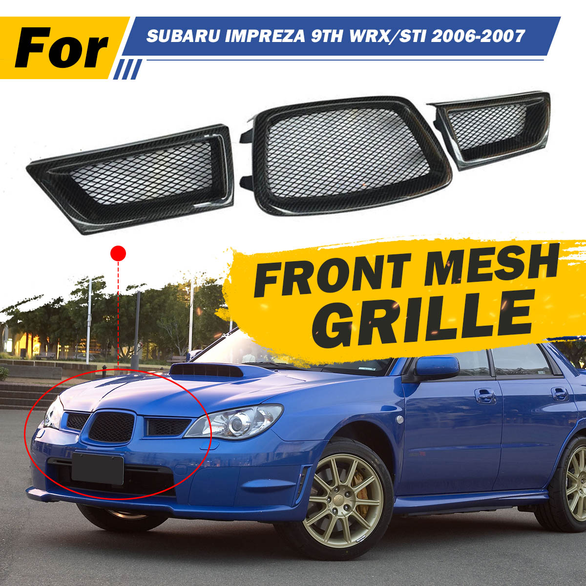Front Windscreen Washer Pump Fits Subaru Impreza Saloon 2000 2001 Bugeye WRX STi