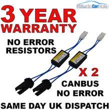 Luzes do carro 2 pces 12v aviso cancelador decodificador led 501 t10 erro carga resistor 90lm quente! Sh2 luz do carro acessórios