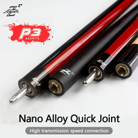 PREOAIDR 3142 P3 Billiard Pool Cue Stick 10/11.5/13mm Tip Carbon Maple Shaft Stick Billiard Cue Uni-loc Joint Kit   Professional