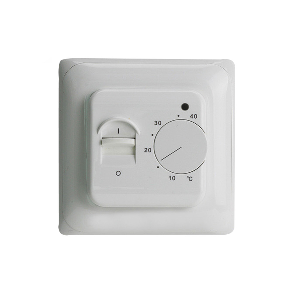 220V 16A Temperature Controller Instrument Manual Thermostat Electric Floor Underfloor Heating Room Warming Heater Warm System