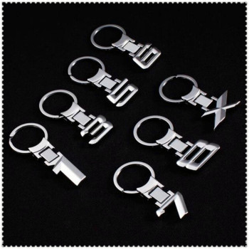 Car 3d Alloy Key Chain Keychain Emblem Key Rings For Subaru Forester Ascent XV WRX VIZIV Outback Legacy Impreza Crosstrek image