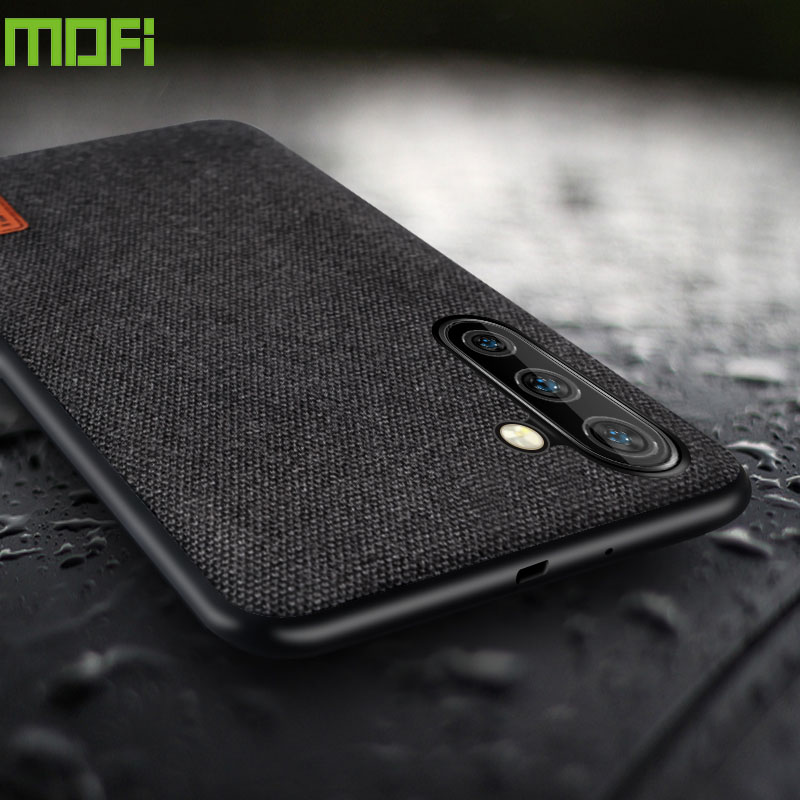 MOFi case for Samsung Note 10 case cloth fabric back cover for Galaxy Note10 Pro silicone business capas note10+ plus coque case