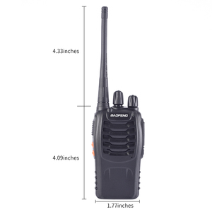 Image 5 - 1PC /2PCS Baofeng bf 888s Walkie Talkie Radio Station UHF 400 470MHz 16CH BF 888s Radio talki walki BF 888s Portable Transceiver