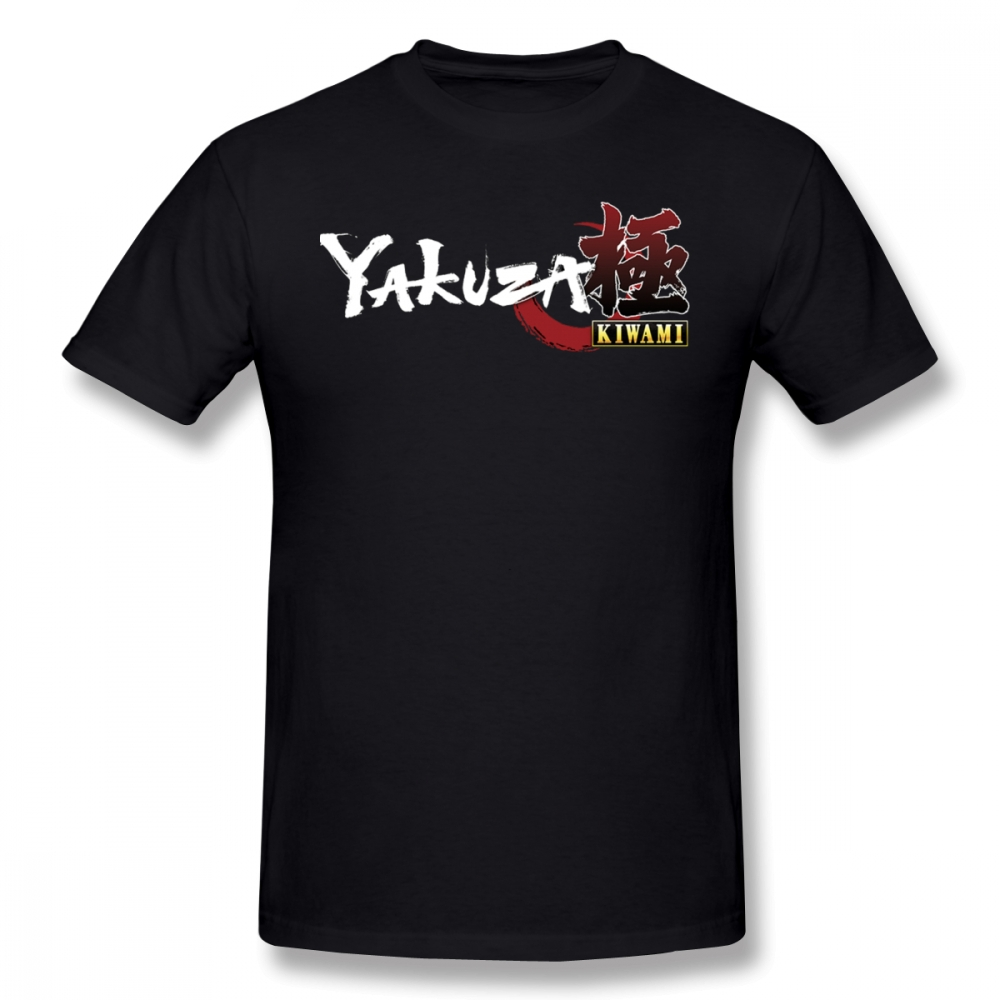 Yakuza T Shirt Yakuza Kiwami T-Shirt Short Sleeve Printed Tee Shirt Awesome 3xl Beach Male Cotton Tshirt