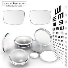Best Eyeglasses Lenses Glasses Frame Setting Rx Myopia Photochromic Reading Scratch proof Anti reflective Coating HMC Lf01