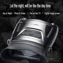Новые HD динамические Широкоформатные инфракрасные цифровые очки ночного видения многофункциональная камера для фотосъемки ночное охотничье устройство
