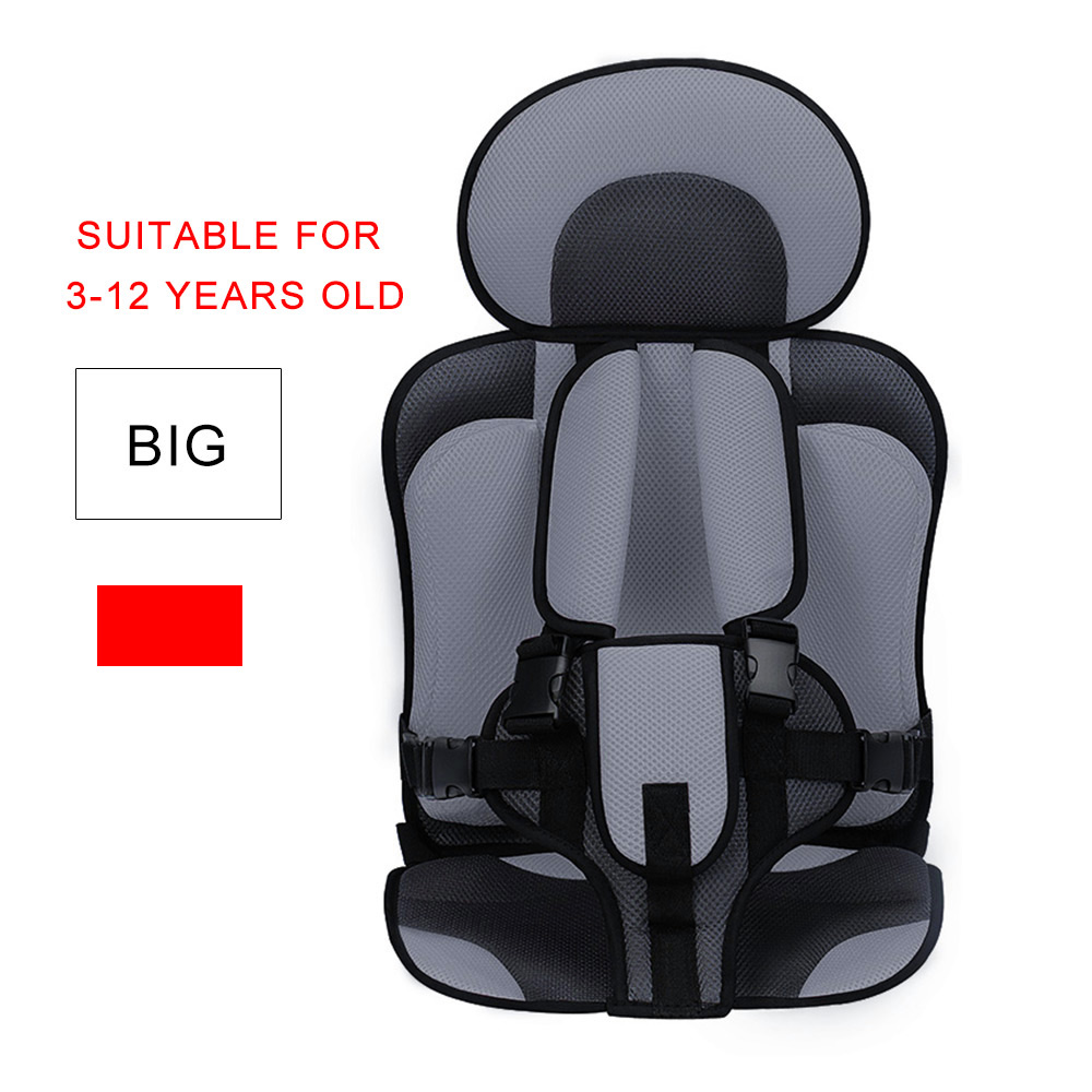 0-12 Years Old Baby Children's Seat Mat Armchair Portable Thicken Soft Breathable Chairs Mats Prevent Sudden Braking Protect Mat