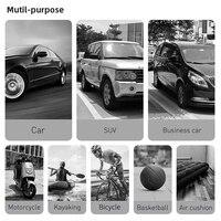 Baseus Portable Car Air Compressor 150 PSI Digital Tire Inflator Air Pump DC 12V Auto Tire Inflator for Car Bike Motorcycle