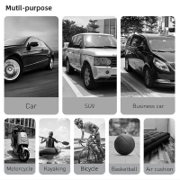 Baseus Portable Inflator Pump Car Air Compressor Smart Digital Tire Pressure Detection Auto Tire Pump for Car Bike Motorcycle