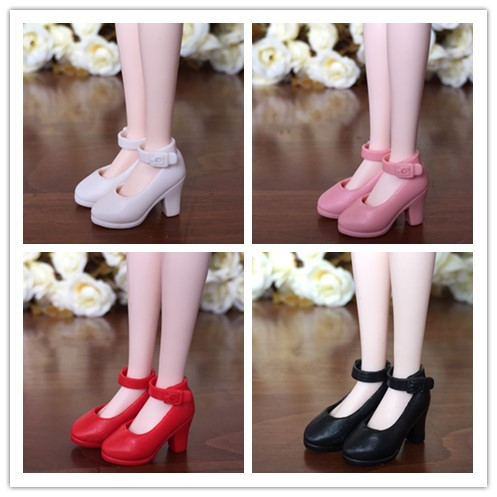 1 Pair Blyth Licca Shoes Doll 1/6 High-heeled Flats Doll Shoes For Icy Blyth, Azone Dolls Accessories