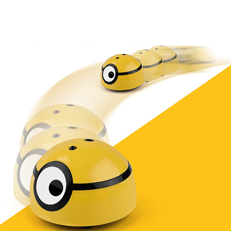 Crazy Run Away ME RC Induction Car Runing Away MINION Model Electric Toys Robot Child RC Car Creative Funny Flashing Toys