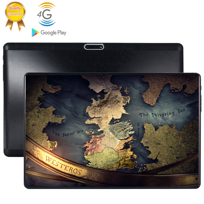 2020 New 10.1 Inch Android 9.0 Tablet Pc 6GB And 64GB 128GB Dual SIM Card 4G LTE HD Large Screen Dual Camera 8 Core Tablets