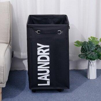 Laundry Basket Basket with Wheel Best Children's Lighting & Home Decor Online Store