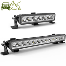 9D Lens Single Row Led Light Bar For Car 12V 24V 4x4 Offroad SUV Uaz ATV 4WD Truck Tractor Boat Spot Beam Driving Barra Lights