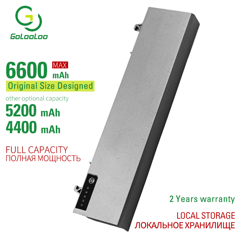 6600MAh Laptop Battery For Dell Latitude E6400 E6500 E6510 M2400 M4400 M4500 E6410 312-0917 GU715 C719R RG049 U844G TX283 0RG049 image