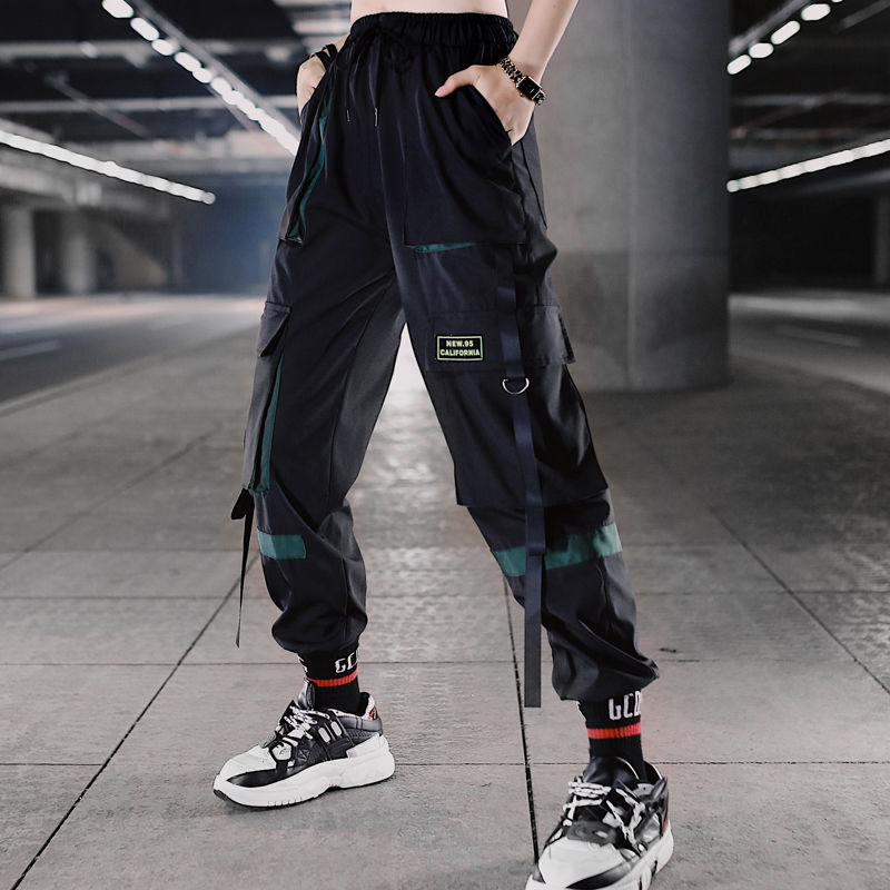 Combat Cargo Trouser Camouflage Pants Military Track Chain Casual Womens Ladies
