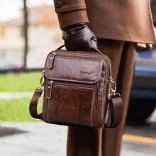 Cobbler Legend Brand Mens Genuine Leather Business Bag 2016 Men Shoulder Bags High Quality Male Handbags For #812166-1