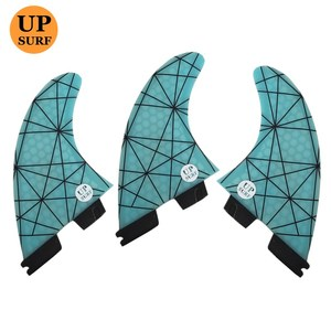 Image 5 - FCSII G5 M Size Tri fin set Surfboard Honeycomb Fins FCS 2 Fin Hot Sell FCS II Fin Quilhas