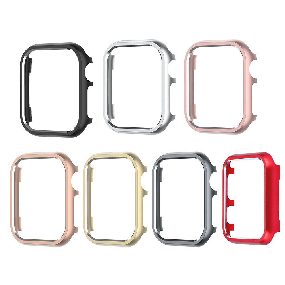 Suitable For Apple IWatch 4 Generation Watch Metal Protective Case Watchcase Stainless Steel Protective Sleeve 40 Mm/44 Size