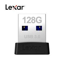 Oryginalny Lexar S47 U dysku wysokiej prędkości USB3.0 32GB 64GB szyfrowania mały flash drive samochód pamięć USB 128G prędkość odczytu 120 mb/s
