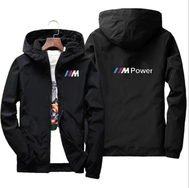 2019 New Motorcycle Waterproof Jacket For BMW Motocross Fashion Jacket Motobike Riding Hooded Windbreaker