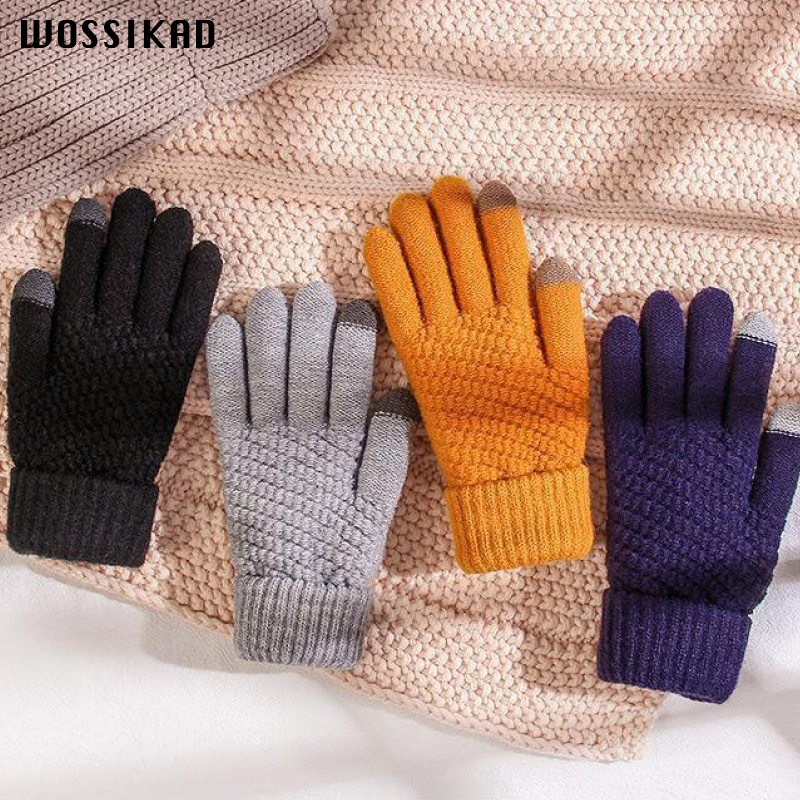 Women Gloves Winter Handschoenen Touch Screen Black Gloves Driving Gloves 2019 Promotion Luvas Motociclismo Gant Luva Eldiven