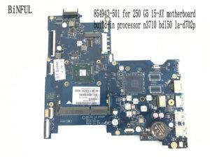 Image 1 - BiNFUL Available, nouvel article Carte mère pour ordinateur portable HP LA D702P, processeur N3710, carte mère BDL50 250, processeur N3710