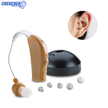 BTE Rechargeable Hearing Aids Best Sound Amplifier Hearing Aid For Elderly/Deaf/Hearing Loss Audifonos все цены