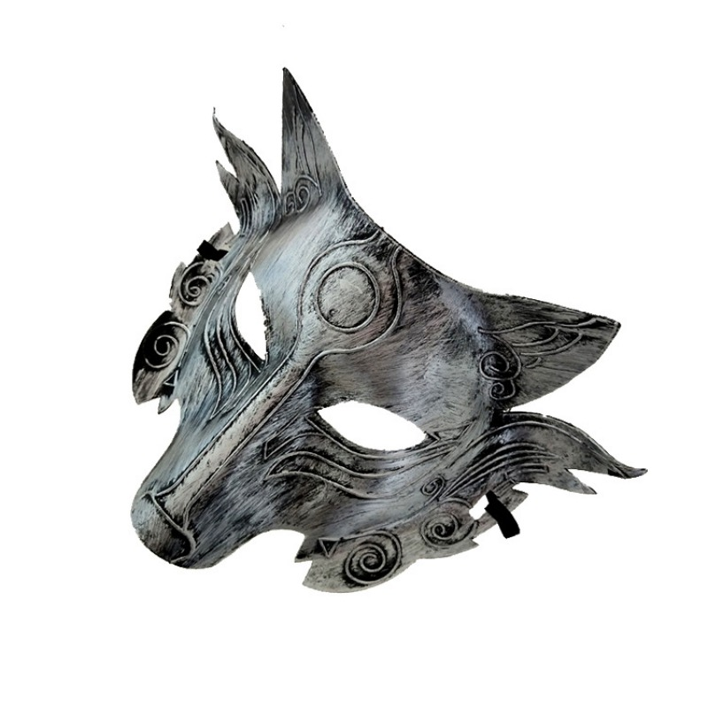 Wolf Head Mask For Halloween Party Carnaval Masquerade Cosplay Bar Performances Decorations