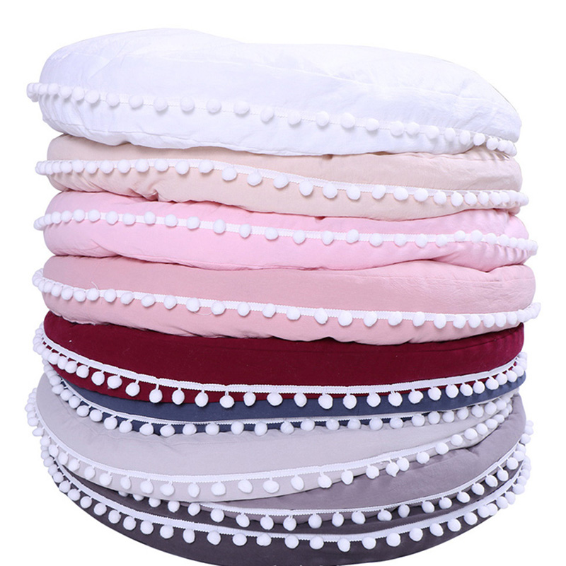Baby Playmat Cottonkids Rug  Crawling Mat Hairball Carpet Infant Safety Protection Cushion Accessories Room BTN030