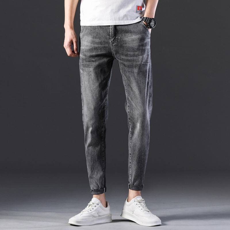 KSTUN Stretch Jeans Men Skinny Gray 2020 New Arrivals Man Long Trousers Slim Fit Cowboys Mens Jeans Fashion Designer Tapered 11