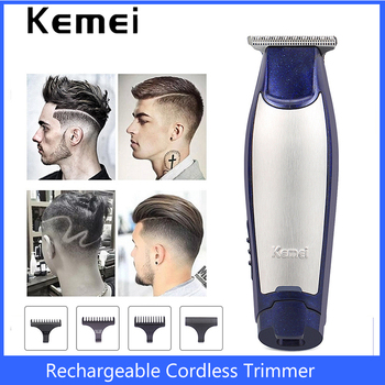 original kemei km 605 washable rechargeable electric hair clipper trimmer shaving razor cordless ultra quiet razor haircut Kemei Hair Trimmer Professional Electric Hair Clipper Rechargeable Cordless Razor Barber Hair Cutting Haircut Machine Men Shaver