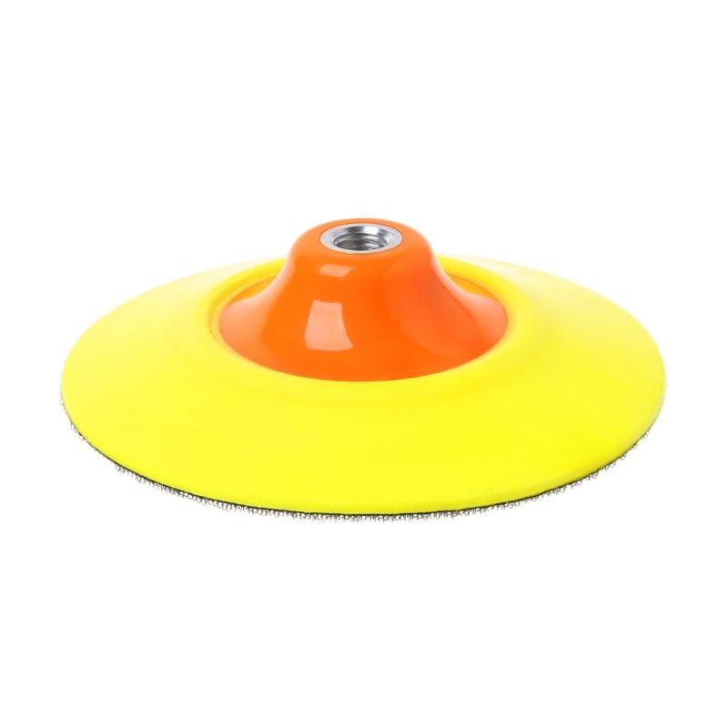 2020 novo 6 placa almofada de apoio borda flexivel almofadas de polimento lavagem de carro ferramentas