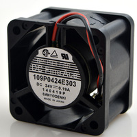 FOR Sanyo 4028 24v 0.19a109p0424e303 4cm 4cm large air volume inverter cooling fan