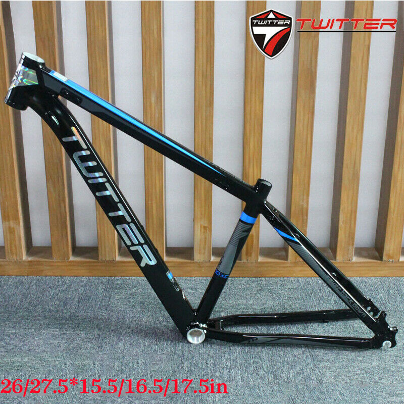 "26/"" Mountain Bike Frame /& Headset 16//17 Ultralight Aluminum MTB Bicycle Frameset"