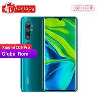 In Magazzino Globale Rom Xiao Mi Mi CC9 Pro Cc 9 Pro 8 Gb 128 Gb 108MP Penta 5 Telecamere snapdragon 730G Smartphone 6.47 ''Amoled Curvo