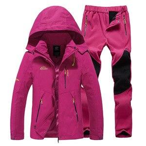 Image 5 - Ski Suit Women Warm Waterproof Skiing Suits Set Ladies Outdoor Sport Winter Coats Snowboard Snow Jackets and Pants Lawele Hoolau