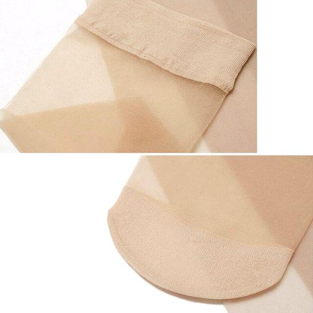 Женские летние тонкие шелковые прозрачные сексуальные нейлоновые носки 5